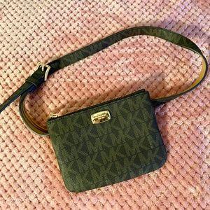 NWOT! MICHEAL KORS MK Monogram Belt Bag!!